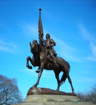 Logan Memorial, Grant Park