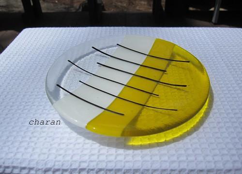 黄色いお皿 by Poran111