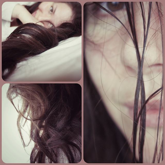365 days / day 59 - Rainkissed locks of hair