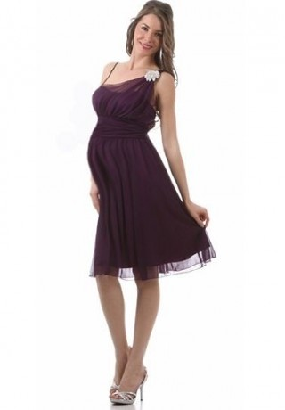 chiffon maternity bridesmaid dress