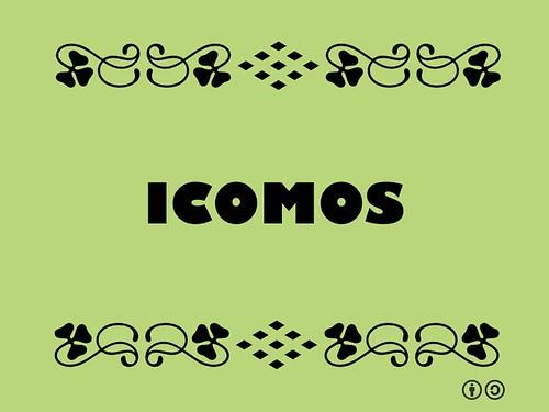 Buzzword Bingo: ICOMOS #buzzwordbingo