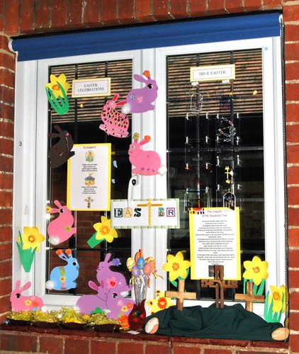 Easter windows