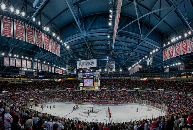 Joe Louis Arena - Detroit Red Wings