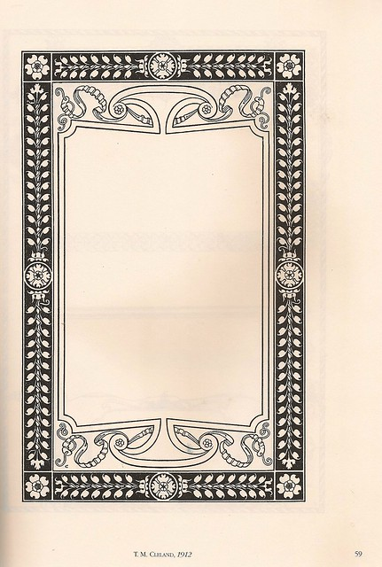 Classic border designs by twentieth century masters for Classic border design