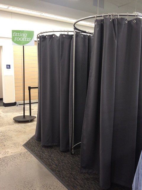 Nordstrom Rack portable fitting rooms | Flickr - Photo ...