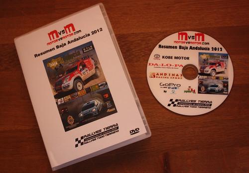 DVD Baja Andalucía 2012