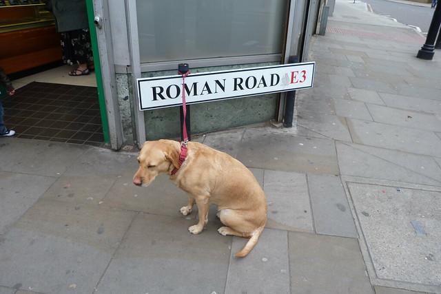 Header of roman road