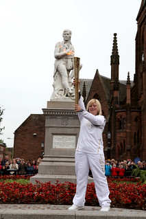 London 2012 Olympic Torch Relay , Dumfries