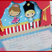 418 - Little Tin Soldier and Ballerina Invitation by mercia designs