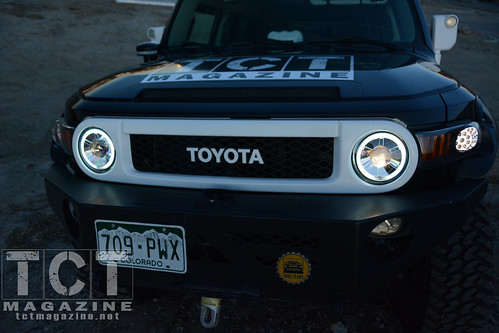 FJ Cruiser LED Headlight Projector Upgrade | TCT Magazine
