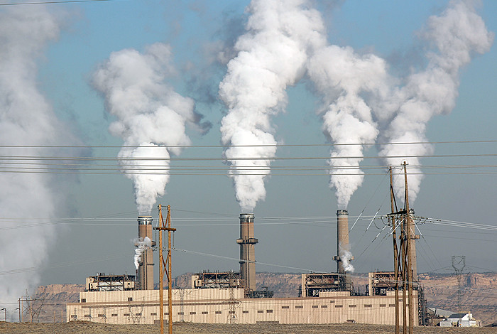 The Four Corners coal-fired power plant, near Farmington, N.M. is a major source of pollutants, with measurements confirmed by Los Alamos National Laboratory researchers.