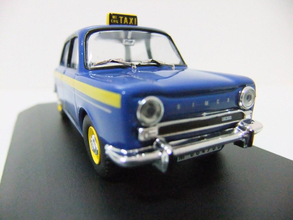 SIMCA 1000 (Madrid, 1966) ALTAYA | Nº 27. Simca 1000 Micro