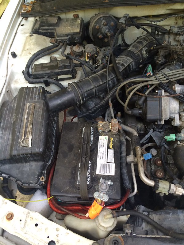 Halp with 94 wagon. Funky battery cables, VSS, ELD codes ...