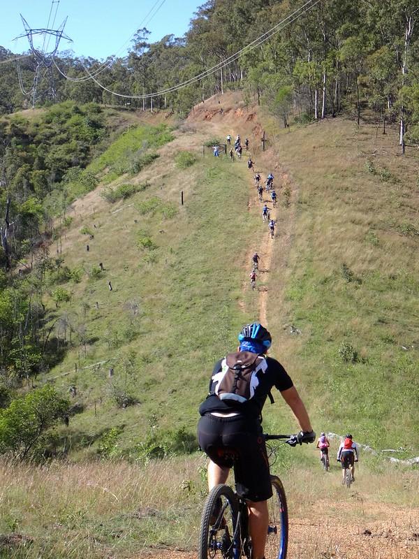Steep Powerline Track