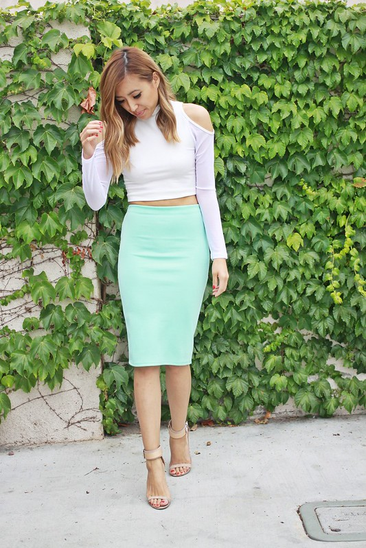 lucky magazine contributor,fashion blogger,lovefashionlivelife,joann doan,style blogger,stylist,what i wore,my style,fashion diaries,outfit,fashion tip, style tip, crop top and skirt,crop top,charlotte russe,ami clubwear,zara,summer style,who what wear,you got it right