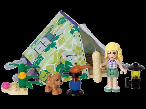 LEGO Friends Jungle Tent Accessory Pack 850967