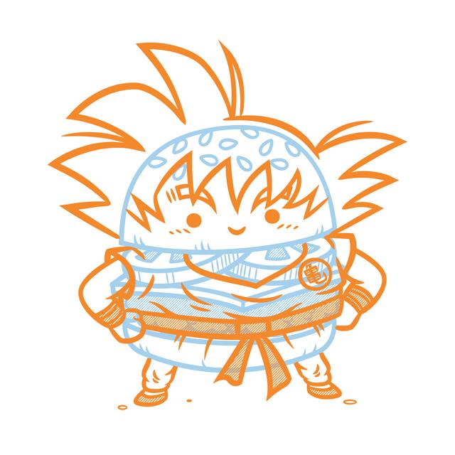Cheeseburger Goku