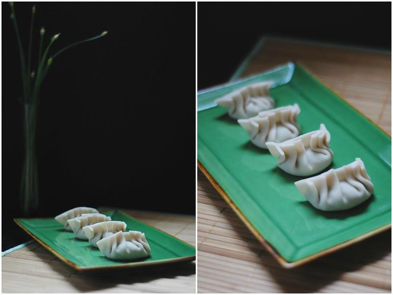 3 veg dumplings