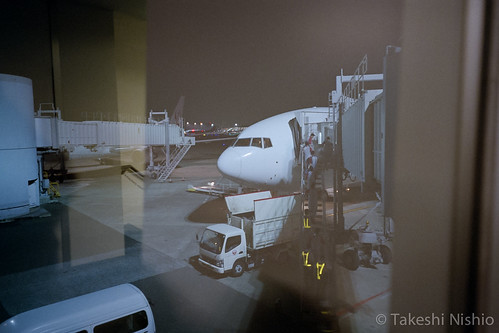 arrived in Haneda airport