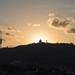 Sunset behind Tibidabo by embralona