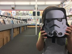 Rhino Chaser #stormtrooper #lunchpail #claremont #california #light #aisle  #rhinorecords #first #records #nephew