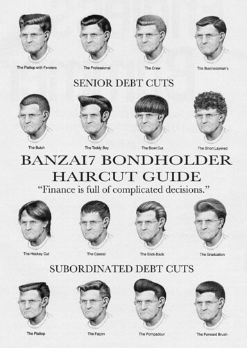 OFFICIAL BONDHOLDER HAIRCUT GUIDE by Colonel Flick