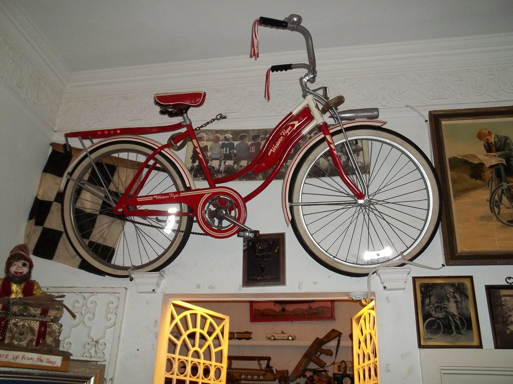Girl's Western Flyer coaster-brake bicycle
