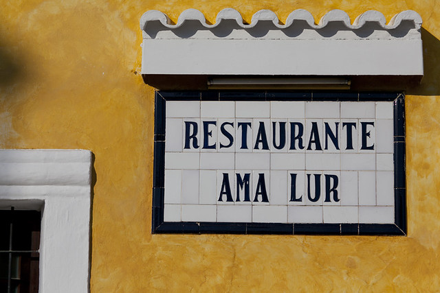 Ama Lur, Ibiza Restaurant
