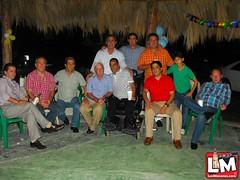 Monso Camacho celebro sus cumpleaños acompañados de sus hijos y amigos