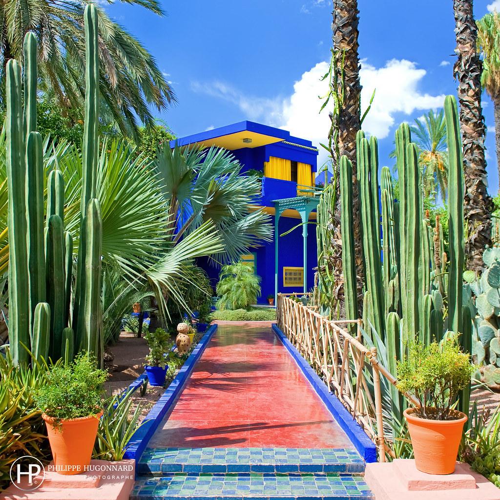 Le Jardin Majorelle De Marrakech Au Maroc 04 C Philippe Hug Flickr
