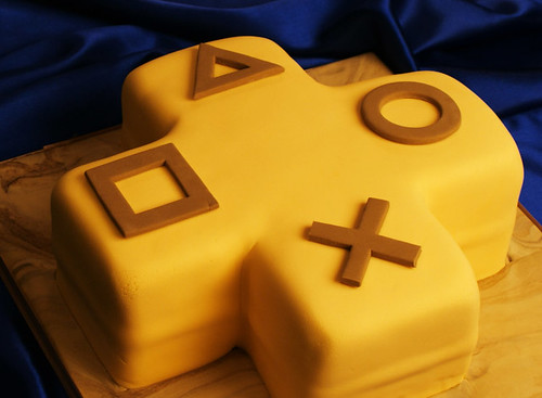 PlayStation Plus Cake 1