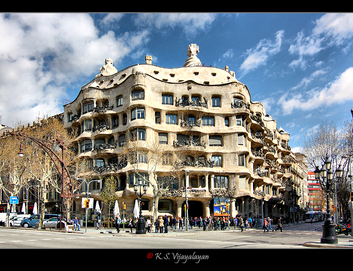 Casa Milà @ Barcelona