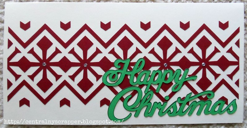 Christmas Card Week 32 option b complete