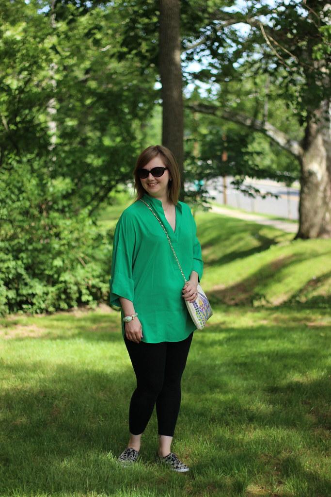 MK green tunic 2