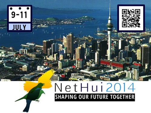 Shaping Our Future Together: #NetHui July 9-11, Auckland, New Zealand @NetHuiNZ @InternetNZ (Poster with Attribution-Share Alike License Poster)
