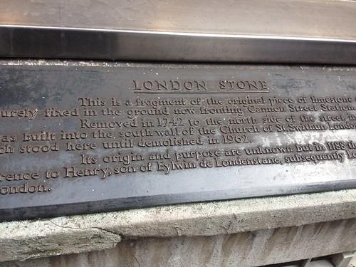 London Stone!