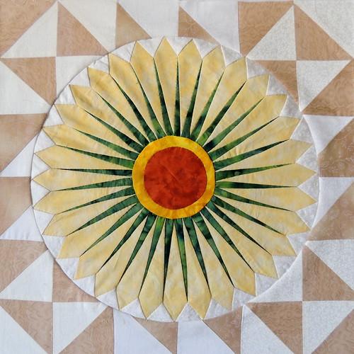 Sunflower Block #2