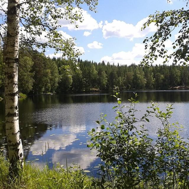 Summer day on a lake #niemisjärvi #evo #suomi #finland