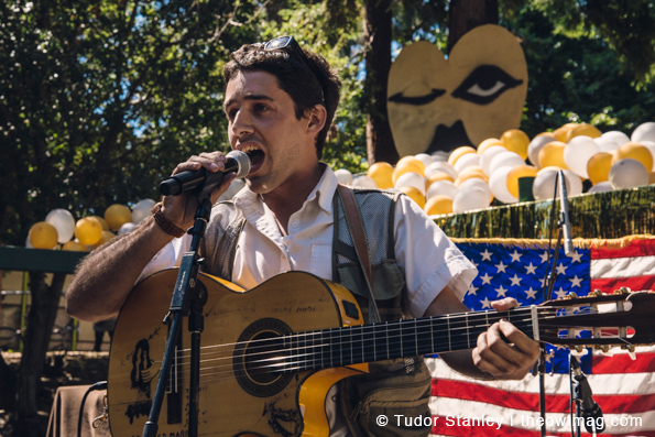 Juan Wauters @ Burger Boogaloo 2014, Sunday