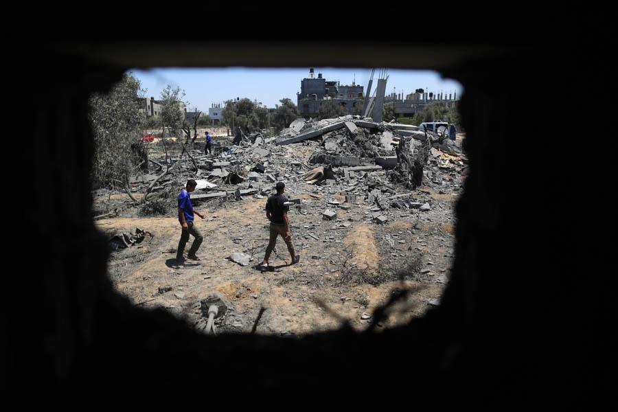 (9)MEDIO ORIENTE-GAZA-SEGURIDAD-CONFLICTO