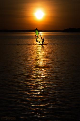 sunset summer river surfer ottawa