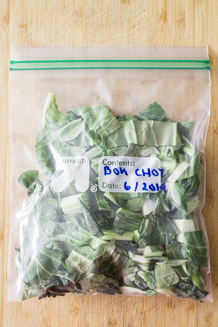 How to Freeze Bok Choy_5