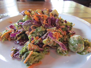Rock'n'Sprout Salad at Flying Apron