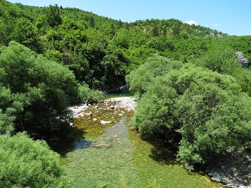 green water river landscape scenery zagori northernpindosnationalpark
