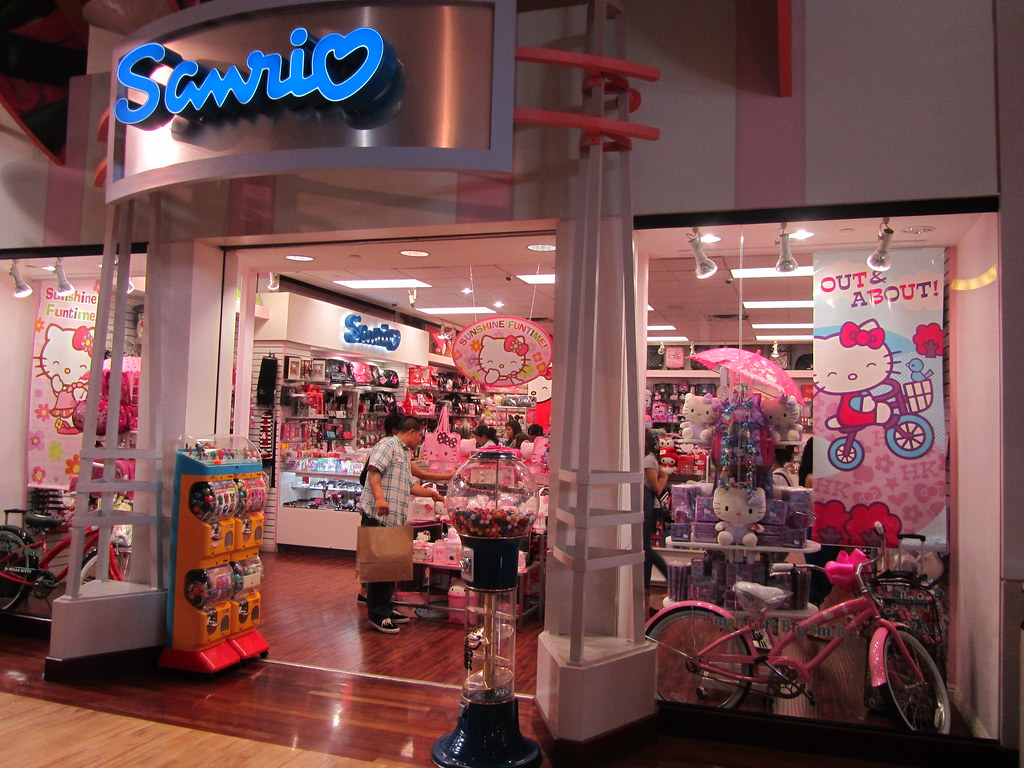 38286cab7388 Hello Kitty Store Mall Of Asia   Sanrio store at ontario mills mall in  california