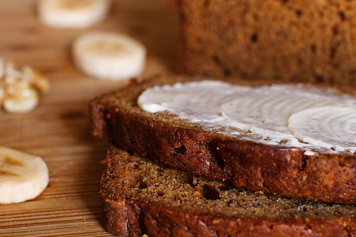 Teff Banana Nut Bread African recipe