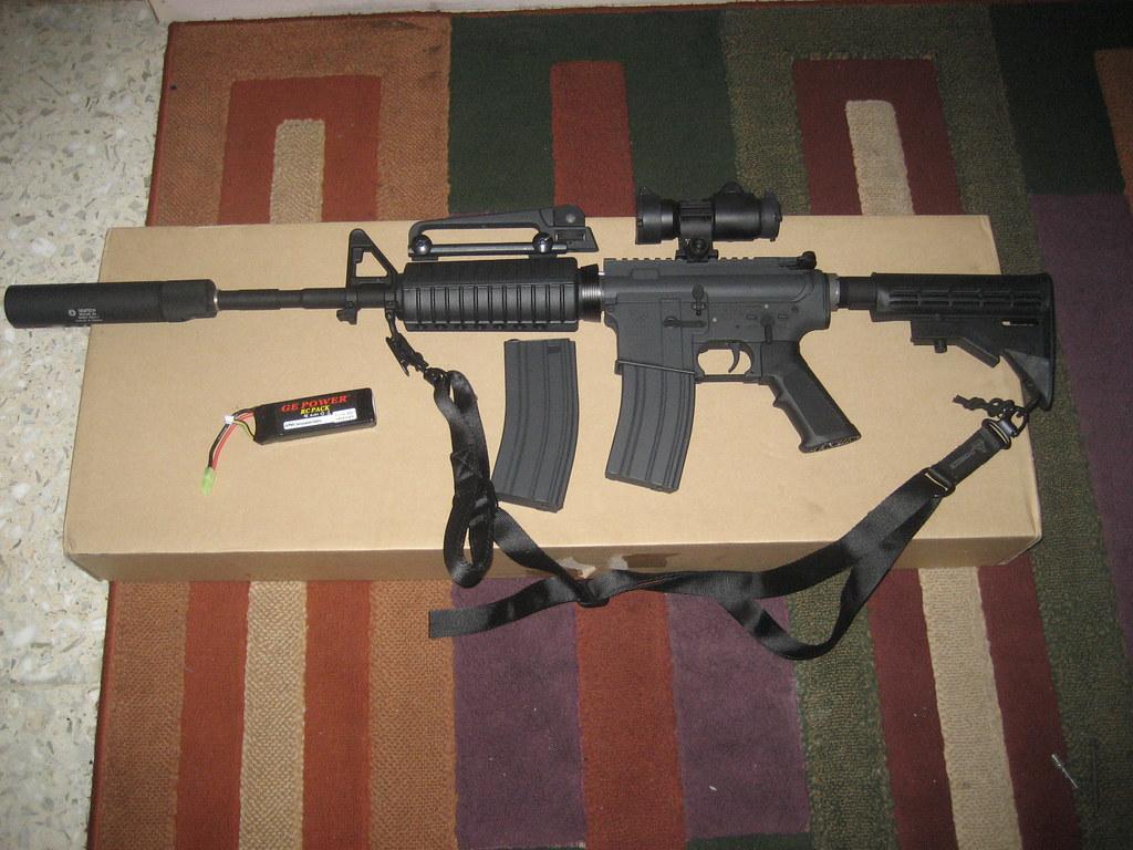 Jual Airsoft Gun Sniper Rifle