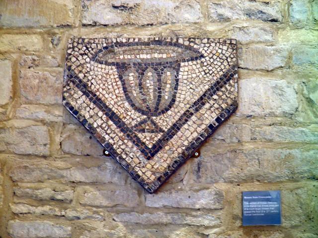 Mosaic, Cup Fragment, Corinium Museum (Cirencester)