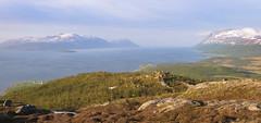 Landscape just north of Tromsø