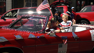 4th of July Parade Paris Texas 2011